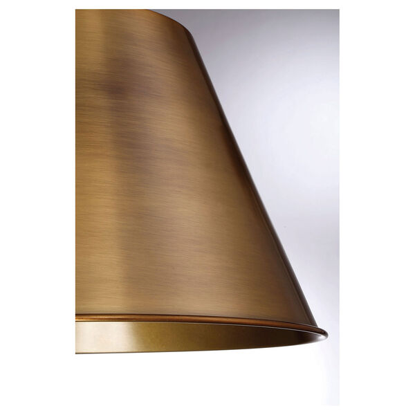 Selby Warm Brass One-Light Pendant, image 3