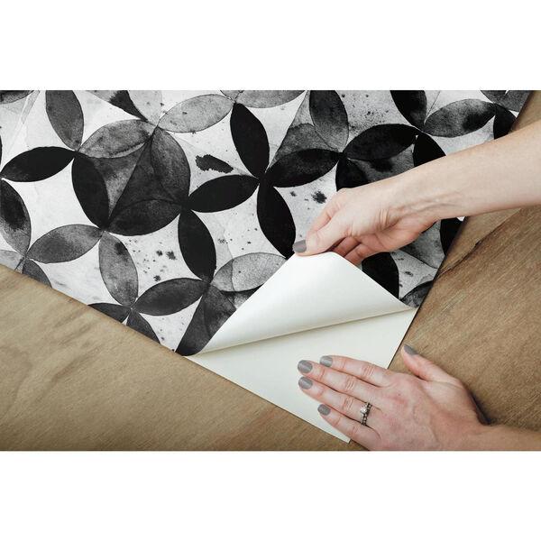 Paul Brent Moroccan Black Peel and Stick Wallpaper, image 5