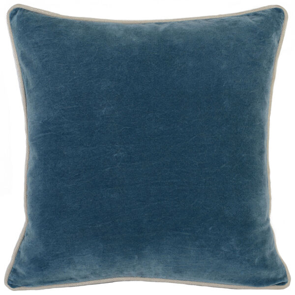 Colby Marine Blue Throw Pillow, image 1