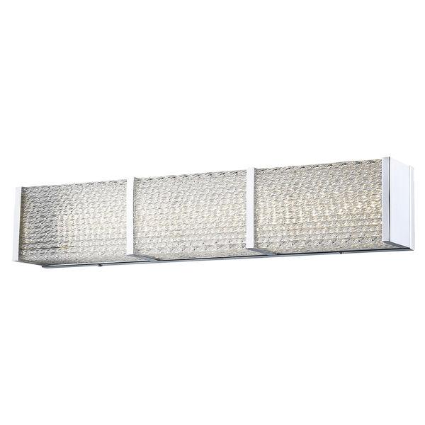 Cermack St. Polished Chrome 32-Inch LED Bath Bar, image 1