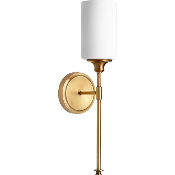 Celeste Aged Brass One-Light 5-Inch Wall Mount, image 1