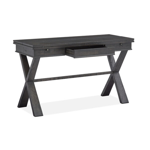 Stepford Gray Flip Top Sofa Table, image 3