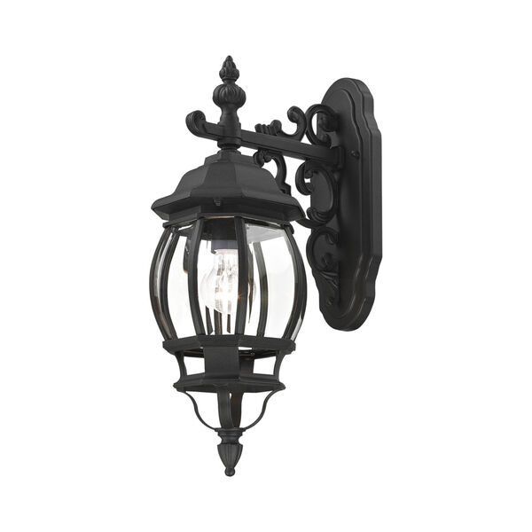 Frontenac Textured Black One-Light Outdoor Wall Sconce, image 5