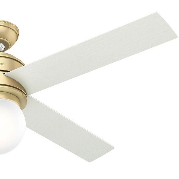 Hepburn Modern Brass 52-Inch One-Light LED Adjustable Ceiling Fan, image 4