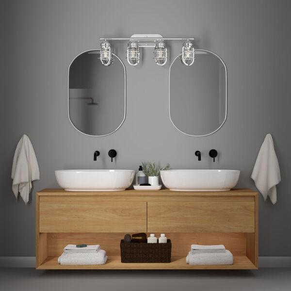 Starklake Chrome Four-Light Bath Vanity, image 2
