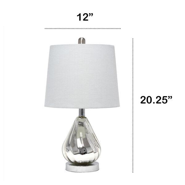 Cerise Chrome Gray One-Light Table Lamp, image 3