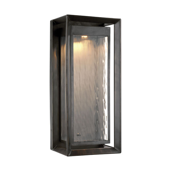 Urbandale Antique Bronze 23-Inch LED Outdoor Wall Sconce, image 1