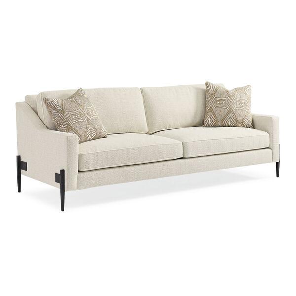 Modern Artisan Remix Ivory Sofa, image 1