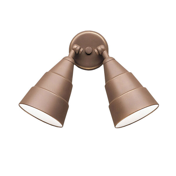 Architectural Two-Light Wall/Ceiling Fixture, image 1