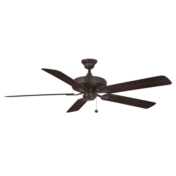 Edgewood Dark Bronze 60-Inch Indoor Outdoor Ceiling Fan, image 1