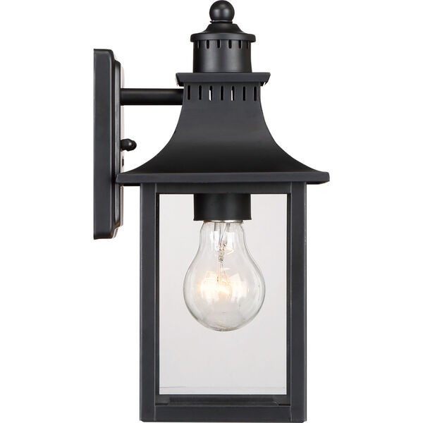 Chancellor Mystic Black One-Light Outdoor Wall Sconce, image 4