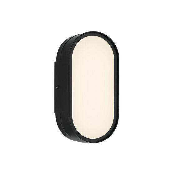 Melody Flat Black LED Wall Sconce, image 2