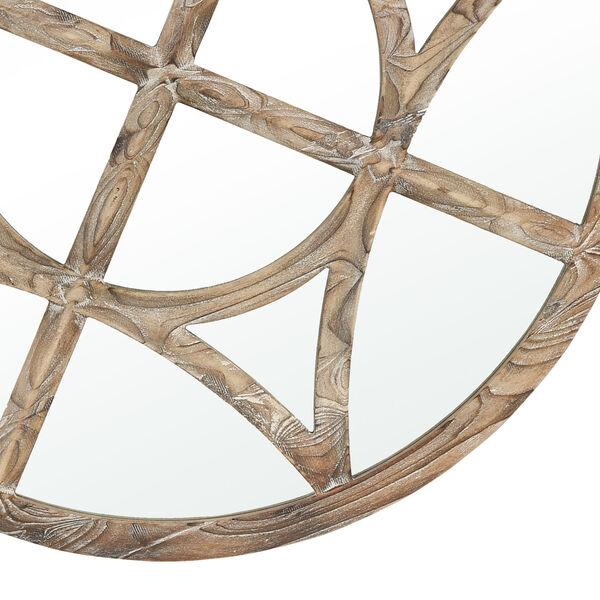 Biship Natural Brown Wall Mirror, image 4