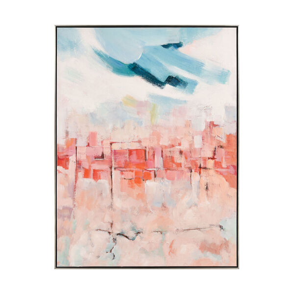 Skyline Hues Multicolor Wall Art, image 1