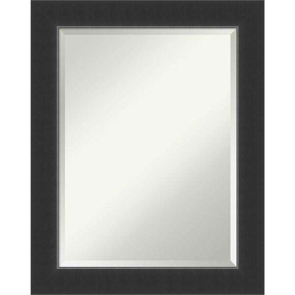 Corvino Black 23W X 29H-Inch Bathroom Vanity Wall Mirror, image 1