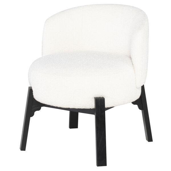 Adelaide Buttermilk and Black Dining Chair, image 2