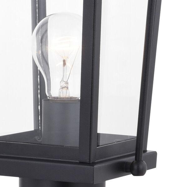 Lexington Textured Black One-Light Outdoor Post, image 3