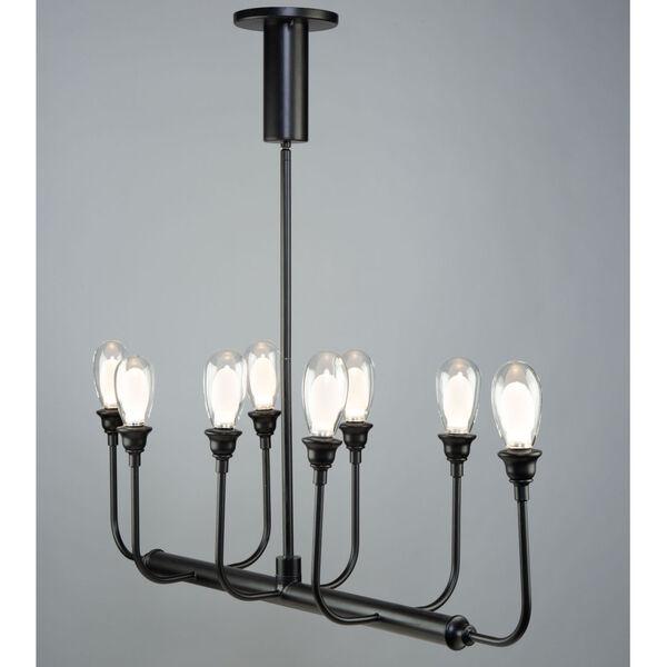 Bimini Black 28-Inch LED Outdoor Semi-Flush Mount, image 2