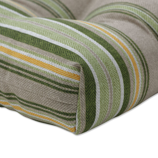 Terrace Green Natural Yellow Large Chairpad, Set of Two, image 3