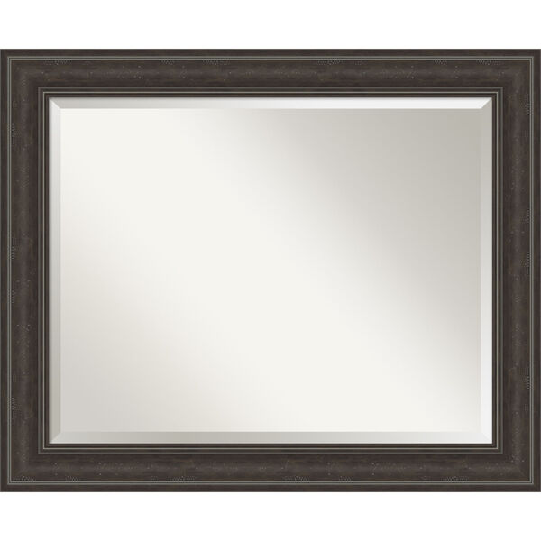 Shipwreck Gray 33W X 27H-Inch Bathroom Vanity Wall Mirror, image 1