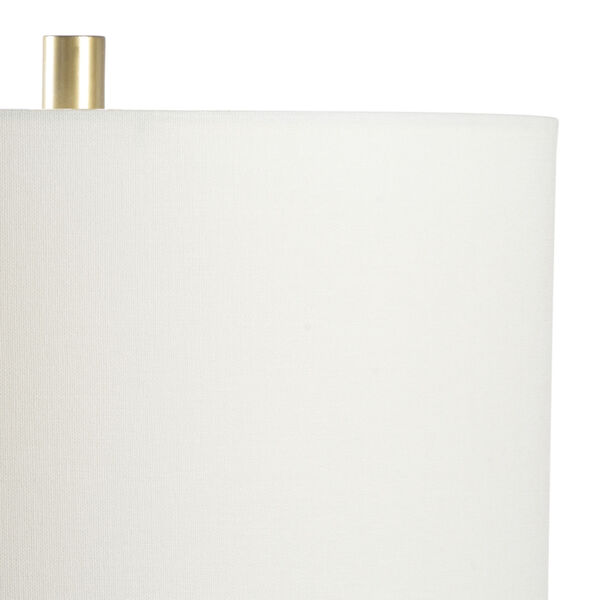 King Black and Metallic Gold One-Light Table Lamp, image 3