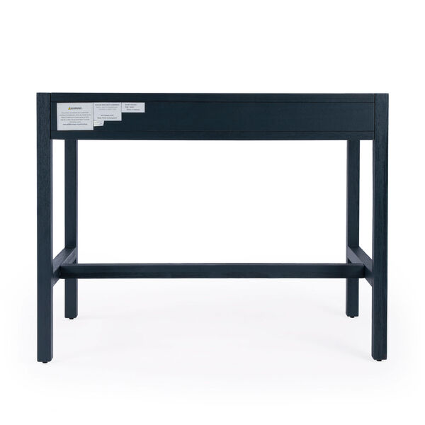 Lark Blue Desk with Two Drawers, image 6