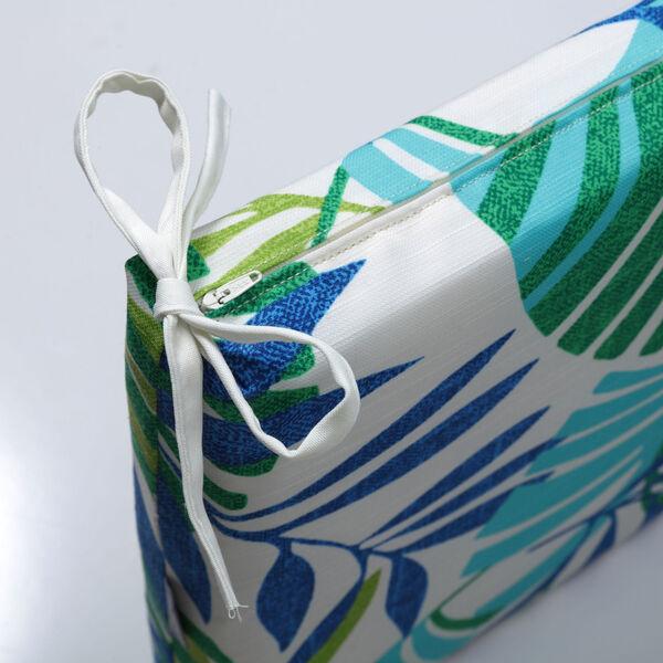 Islamorada Blue and Green Bench Cushion, image 3