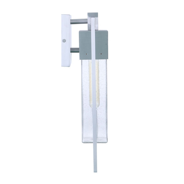 Perimeter Satin Aluminum Six-Inch One-Light Outdoor Wall Sconce, image 5