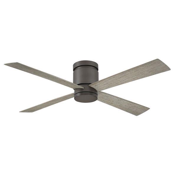 Kwartet Matte Greige 52-Inch LED Indoor Outdoor Ceiling Fan, image 2
