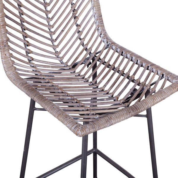 Bali Gray Whitewash Counter Chair, Set of 2, image 3