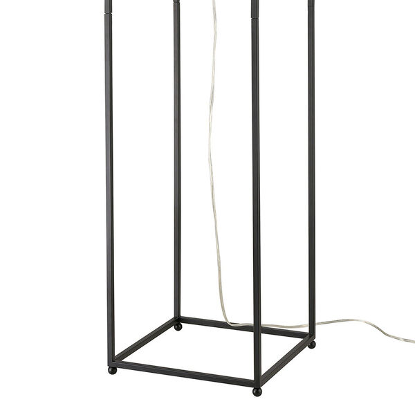 Gavia Antique Gold and Black One-Light Floor Lamp, image 4