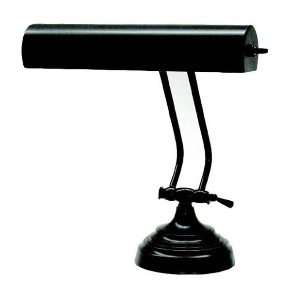 Advent Single Adjustment Antique Brass Piano Lamp (Pictured in Bronze), image 1