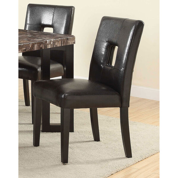Black Parsons Dining Chair, image 2