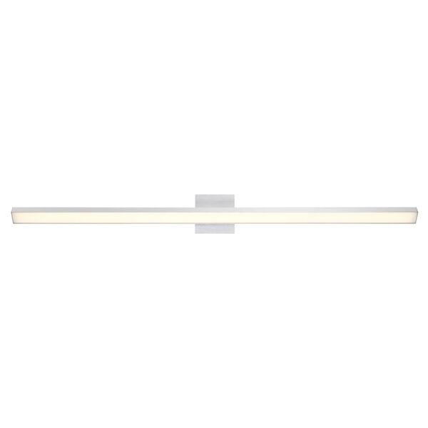Revel Brushed Aluminum 98-Inch 3000K LED Bath Bar Light, image 2