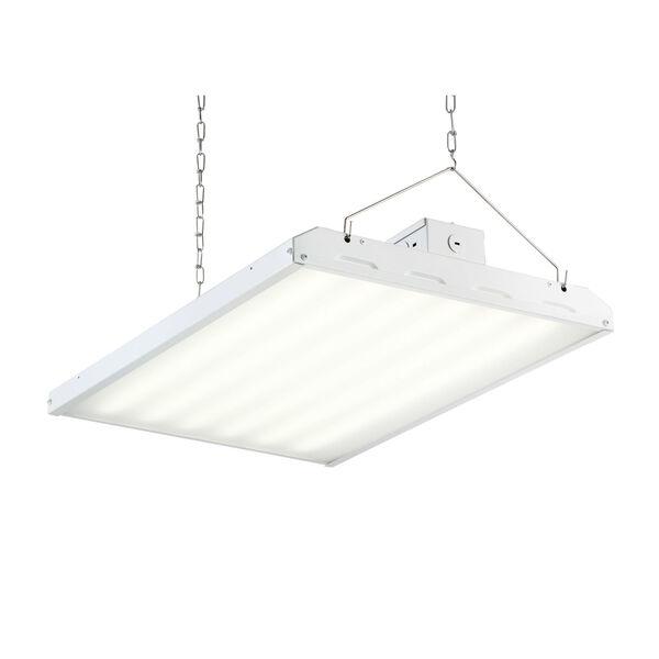 White 110W LED High Bay Hanging Light, image 1