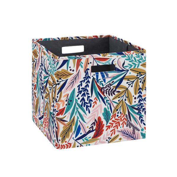 Liam Multicolor Floral Storage Bin, Pack of 2, image 1
