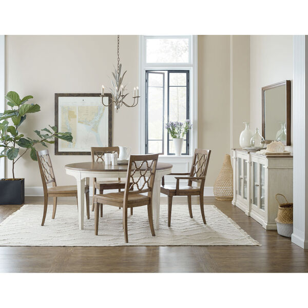 Montebello Carob Brown Side Chair, image 5