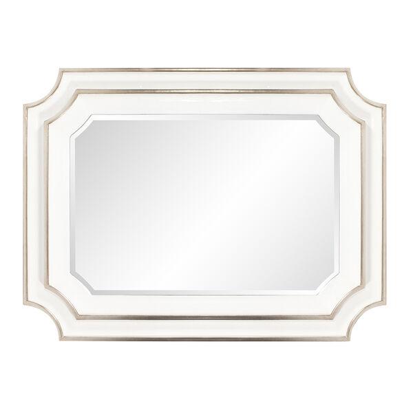 Dante Glossy White Mirror, image 2