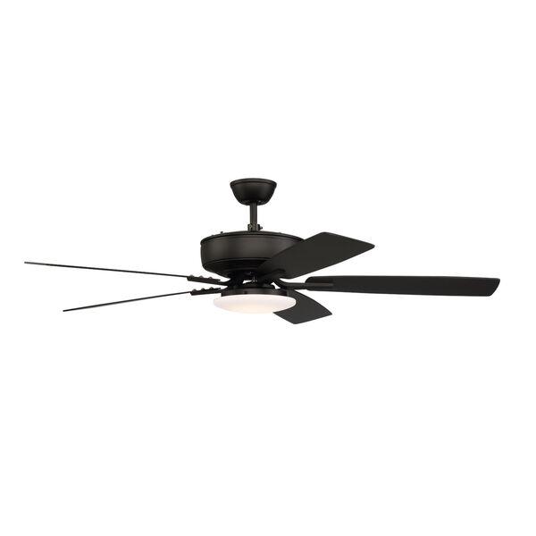 Pro Plus Flat Black 52-Inch LED Ceiling Fan, image 3
