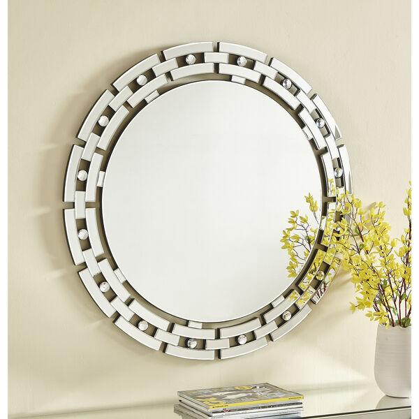 Sparkle Glass 36-Inch Mirror, image 4