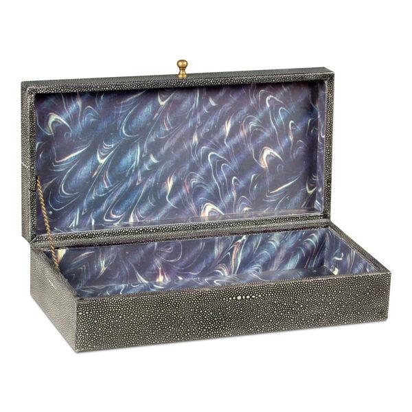 Black Gatsburg Shagreen Box, image 2