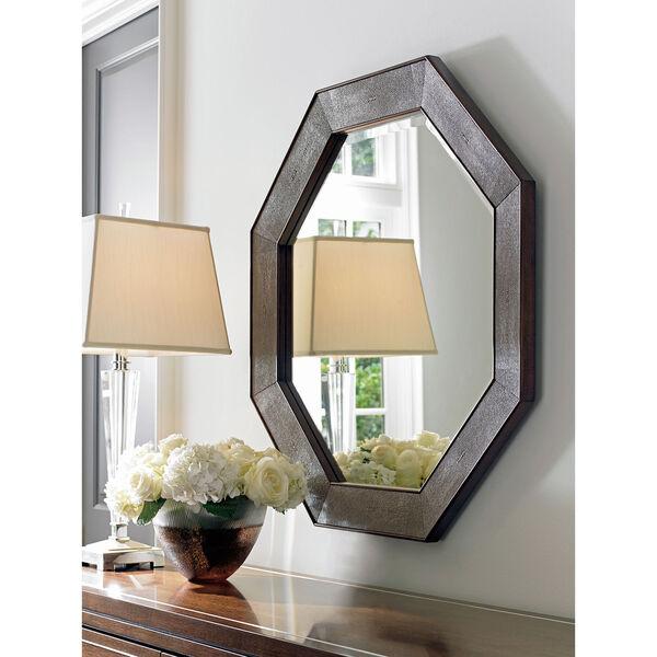 Macarthur Park Brown Riva Octagonal Mirror, image 2