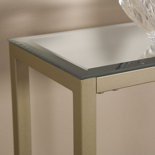 Darrin Metallic Gold 36-Inch Console Table, image 2
