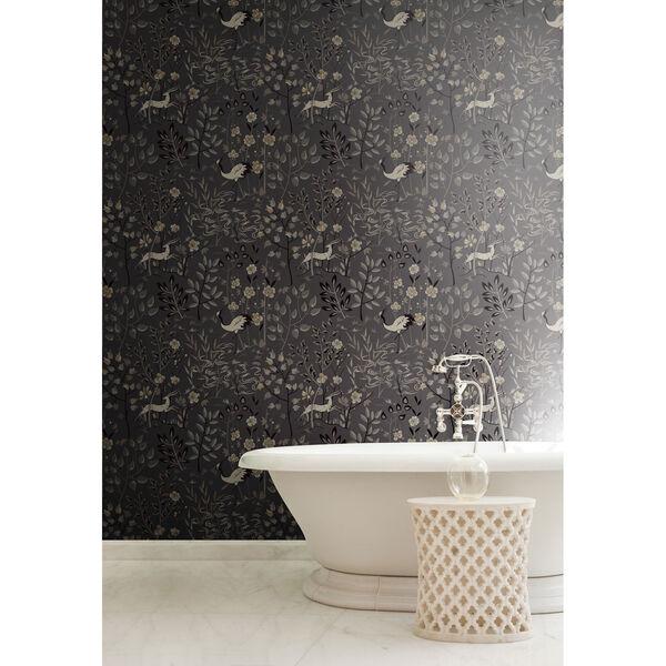 Ronald Redding Urban Dark Grey Aspen Wallpaper, image 4