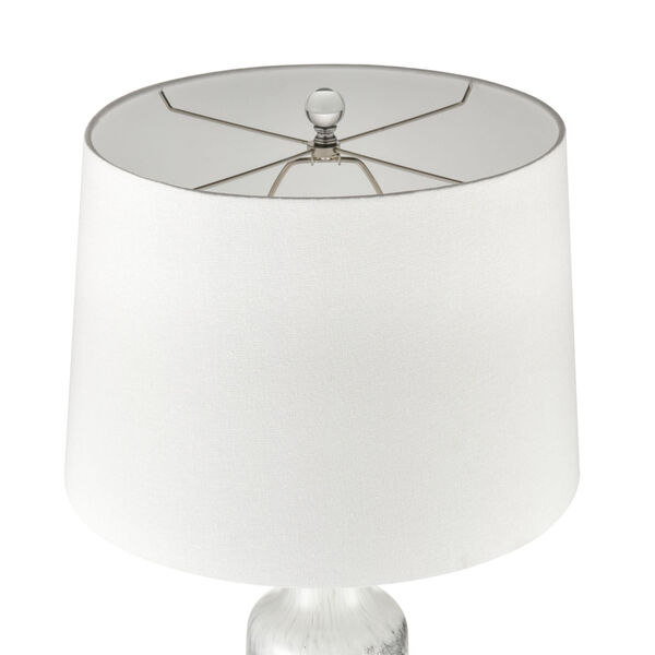 Abilene White and Clear One-Light Table Lamp, image 3