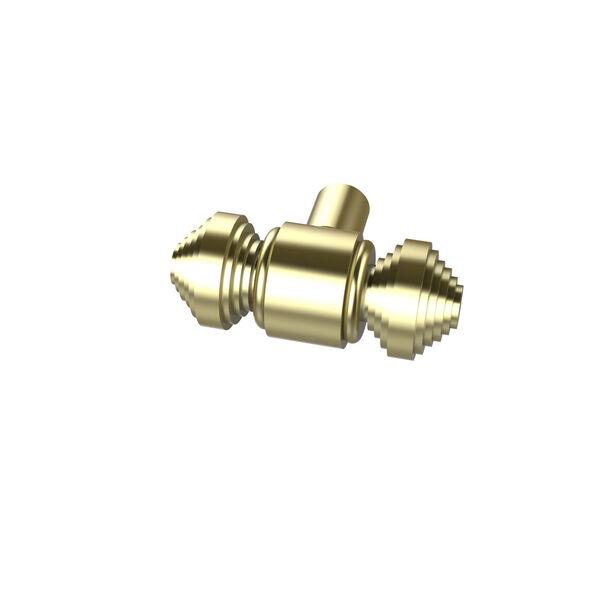 Style SB-10 Satin Brass Designer Cabinet Knob, image 1