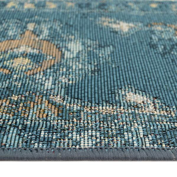 Liora Manne Marina Blue 39 x 59 Inches Kashan Indoor/Outdoor Rug, image 4
