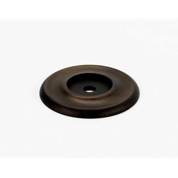 Chocolate Bronze 1 1/4-Inch Backplate, image 1
