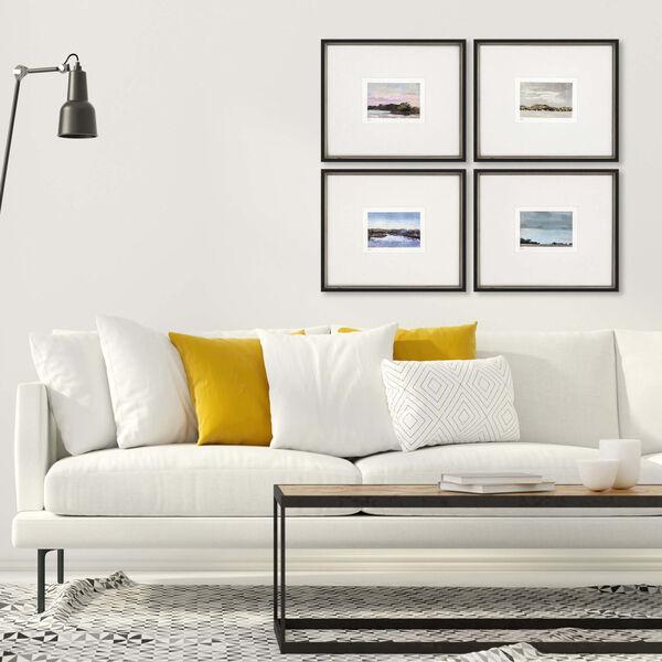Land Study IV Multicolor Framed Art, Set of Four, image 1