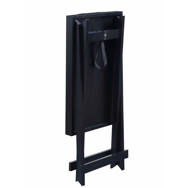 Designs2go Black Folding Tray Table, image 6